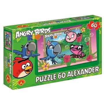 Angry Birds Rio - Jako z obrázku 60 dílků