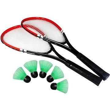 Speed badminton set červený