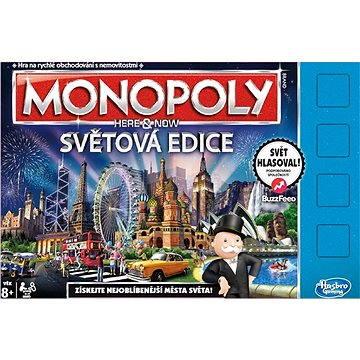 Monopoly - Tady a teď světová edice CZ