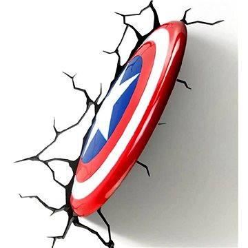 Philips 3D Světlo na zeď - Štít Captain America