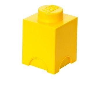 LEGO Úložný box 125 x 127 x 180 mm - žlutý