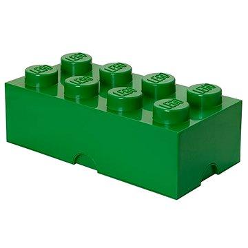 LEGO Úložný box 250 x 500 x 180 mm - tmavě- zelený