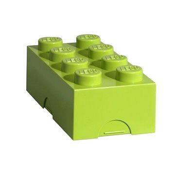 LEGO Box na svačinu 100 x 200 x 75 mm - světle zelený