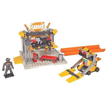 Mega Bloks Hot Wheels - Malý hrací set Servis
