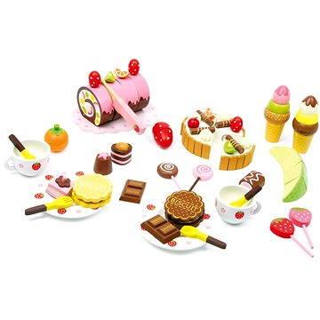 Dřevěný box se sladkostmi