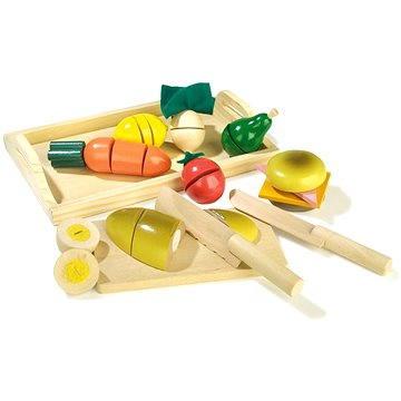 RaKonrad Dřevěné krájecí potraviny - Snídaně