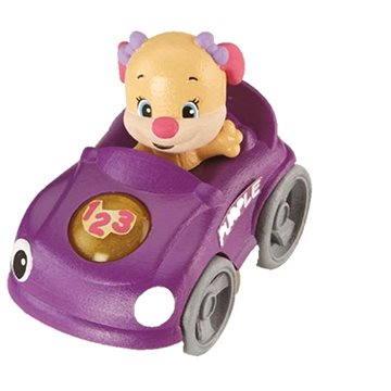 Mattel Fisher Price - Chytré autíčko fialové