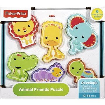 Mattel Fisher Price - Puzzle se zvířátky
