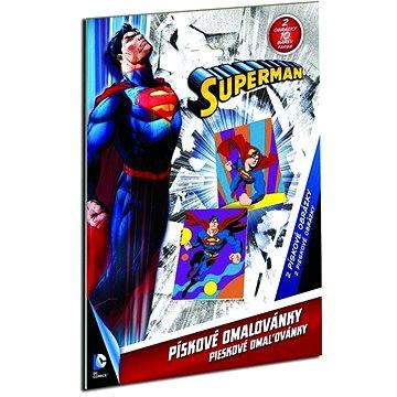 Pískové omalovánky - Superman