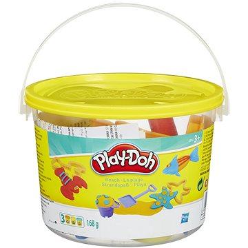 Play-Doh - Mini kyblík na pláž s kelímky a formičkami