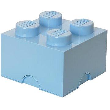 LEGO Úložný box 4 250 x 250 x 180 mm - světle modrý