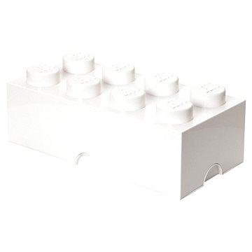 LEGO Úložný box 8 250 x 500 x 180 mm - bílý