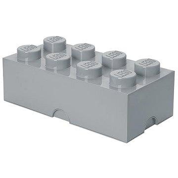 LEGO Úložný box 8 250 x 500 x 180 mm - šedý