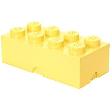 LEGO Úložný box 8 250 x 500 x 180 mm - světle žlutý