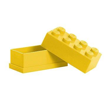 LEGO Mini box 46 x 92 x 43 mm - žlutý