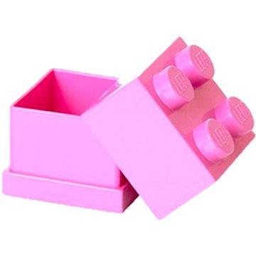 LEGO Mini box 46 x 46 x 43 mm - růžový