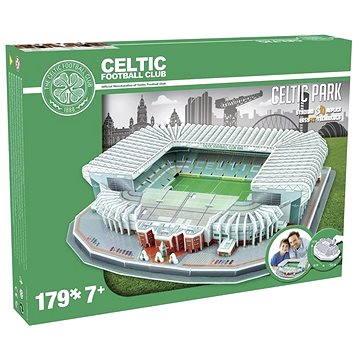 3D Puzzle Nanostad Scottish - Celtic Stadium fotbalový stadion