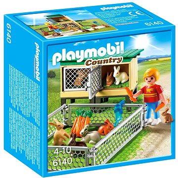 Playmobil 6140 Králíkárna s venkovním výběhem