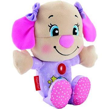 Mattel Fisher Price - Uspávací pejskova sestřička růžovo-fialová