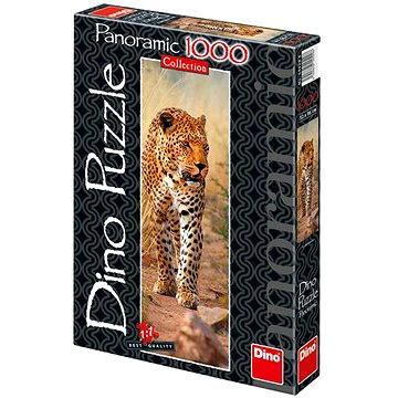 Dino Leopard z Keni panoramatic