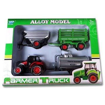 Sestava traktorů s vlečkami