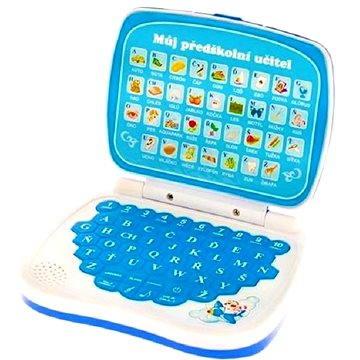 Vzdělávací počítač modrý