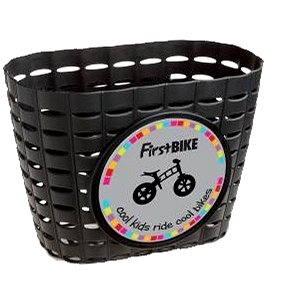 FirstBike košík černý