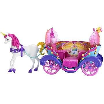 Mattel Barbie - Duhový kočár s princeznou