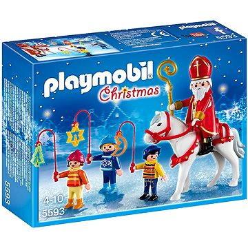 Playmobil 5593 Mikuláš s dětmi