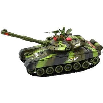 Tank s dobíjecím packem - zelený