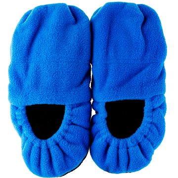 Pantofle do mikrovlnky - modré