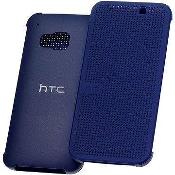 HTC Dot View M231 Hard Shell flip cover Dark Blue
