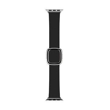 Apple 38mm Černý s moderní přezkou - Large