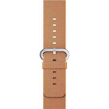 Apple Sport 42mm  Zlatý/ červený z tkaného nylonu