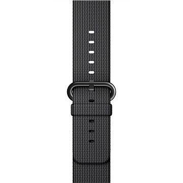 Apple Sport 42mm  Černý z tkaného nylonu