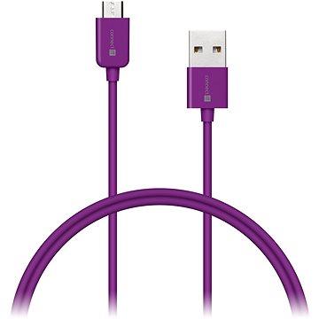 CONNECT IT Colorz Micro USB 1m fialový