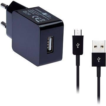 CONNECT IT COLORZ micro USB Charging Combo černý