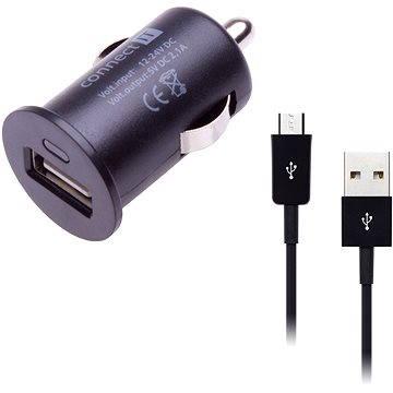 CONNECT IT COLORZ InCarz micro USB Charging Combo černý