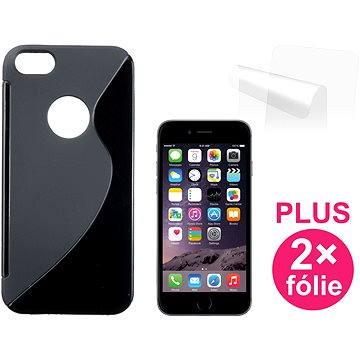 CONNECT IT S-Cover iPhone 6/6s černé