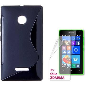CONNECT IT S-Cover Microsoft Lumia 532 černé