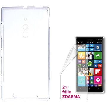 CONNECT IT S-Cover Microsoft Lumia 830 čiré