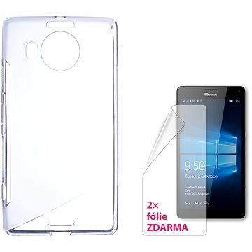 CONNECT IT S-Cover Microsoft Lumia 950 XL/950 XL Dual SIM čiré