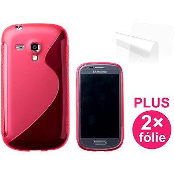 CONNECT IT S-Cover Samsung Galaxy S III Mini (i8190) červené