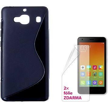 CONNECT IT S-Cover Xiaomi Redmi 2 černé