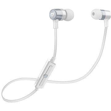 Cellularline Unique Design headset pro iPhone stříbrná