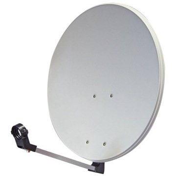 TeleSystem satelitní železná parabola 82x72cm