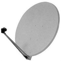 Satelitní hliníková parabola 133x123cm