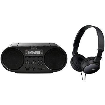 Sony ZS-PS50B + sluchátka MDR-ZX110