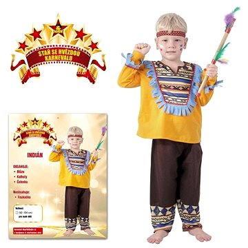 Šaty na karneval - Indián vel. XS