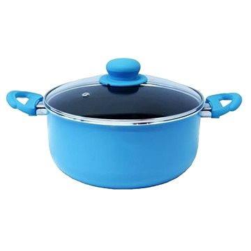 Lamart Kastrol s poklicí 24cm modrý Multicolor 324 BLC